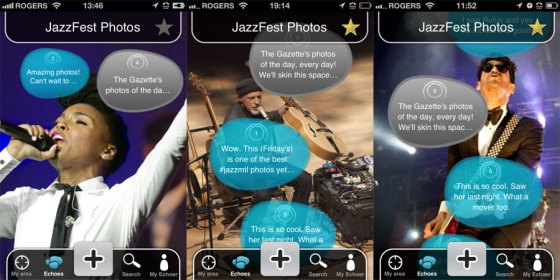 Jazz Festival, Montreal, Gazette, Echoer